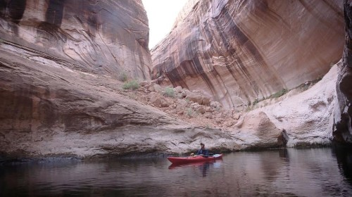 A dam drowned Glen Canyon—but drought is revealing its wonders again