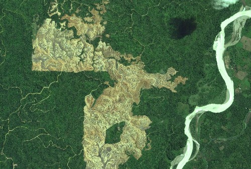 Eye on the Tiger: Satellite Images a New Tool for Conservation