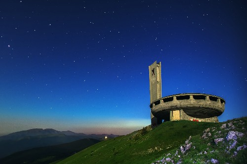 Visit an Eerie, Spaceship-Like Monument in the Balkan Mountains