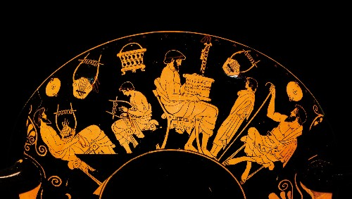 Did sons and daughters get the same education in ancient Greece?