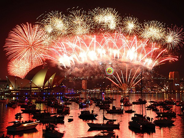 Top 10 New Year's Eve celebrations