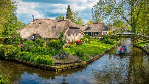 Visit the charming Dutch village where cars aren't allowed