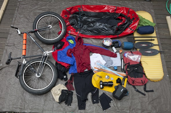Alaska's Lost Coast by Bike and Packraft: Gear Packing List