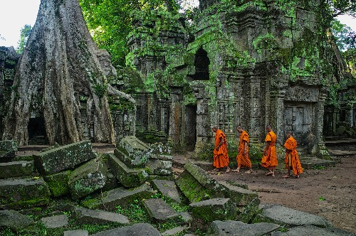 Explore Cambodia's ancient stone city