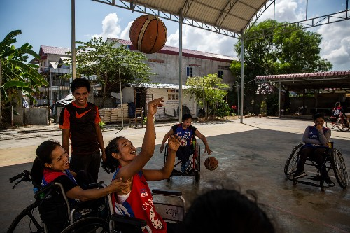 On a Good Note: Wheelchair Basketball in Cambodia and Troubled Kids Turn Social Entrepreneurs  - cover