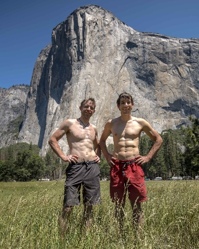 Alex Honnold and Tommy Caldwell Set Historic Speed Record on El Capitan
