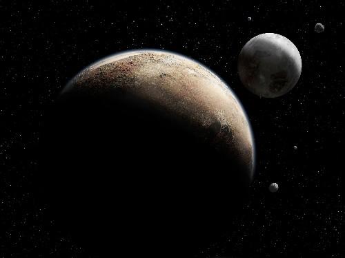 Pluto's Moons Dance to a Random Beat