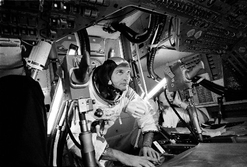Dear Columbia: Apollo 11 astronaut Michael Collins says thanks