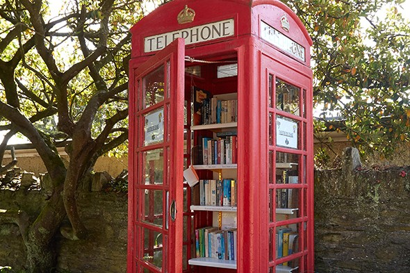 Britain's Red Phone Booths Get Second Life