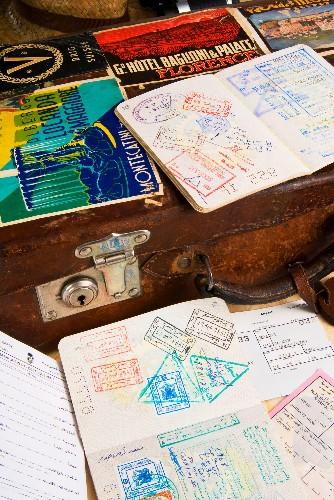 Mummy mugshots and other strange passport facts