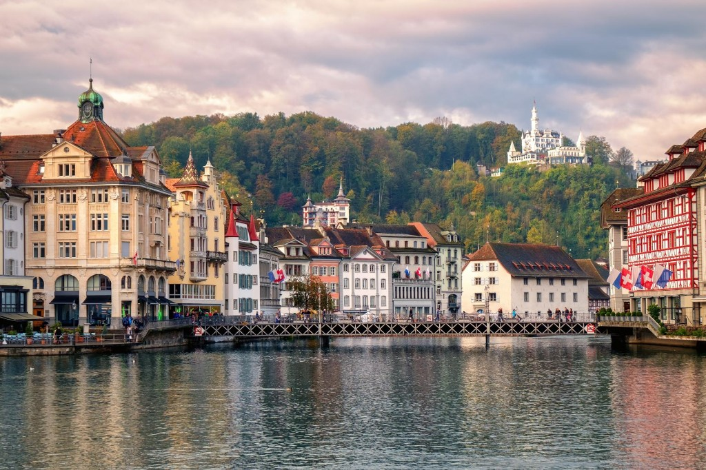 Visit this historic Swiss city beneath the 'dragon mountain'