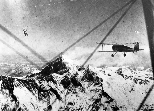First Person: My Uncle Was First to Fly Over Everest