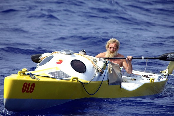 Go, Olek, Go! 67-Year-Old Transatlantic Kayaker 300 Miles From Florida