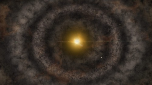 Stunning Snapshot Shows Birth of Alien Solar System