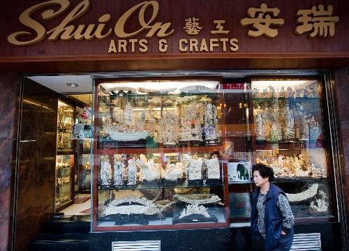 Elephants Win as Hong Kong's Leader Says It Will Ban Ivory Trade