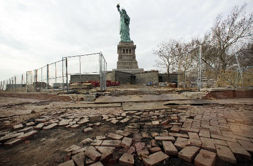 Pictures: Rare Views of Statue of Liberty in Time for Reopening