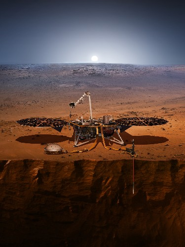 First 'marsquake' detected by NASA lander