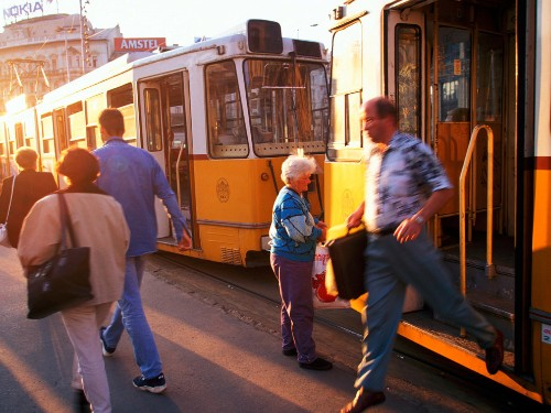 Budapest City Life