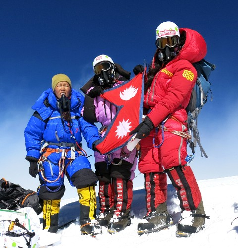 "Controversy Over ""All-Female"" Summit of K2—Men Aided Climb"