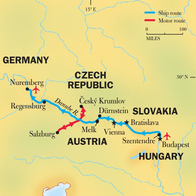 Danube River Cruise From Budapest: Gems Of The Danube
