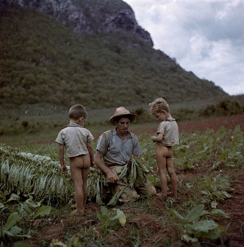 Vintage Photos Show Touching Moments of Fathers Worldwide