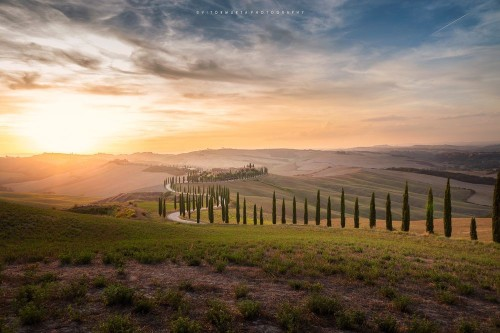 Sunset in Tuscany Photo by Vitor Murta — National Geographic Your Shot