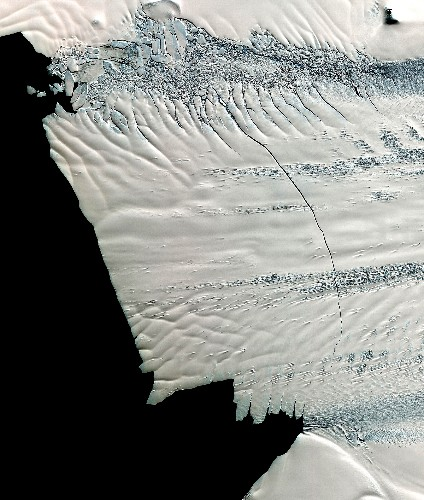 """Shift in Antarctic Winds Drives """"Collapse"""" of Glaciers"""