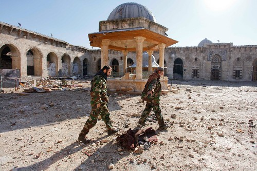 """Archaeologists Train """"Monuments Men"""" to Save Syria's Past"""