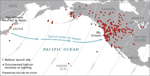 Japan's Secret WWII Weapon: Balloon Bombs