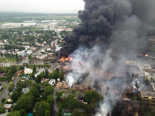 Oil Train Tragedy in Canada Spotlights Rising Crude Transport by Rail