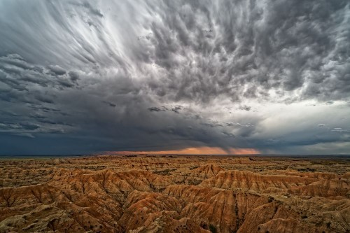 First Badlands sunset Photo by eric ebling — National Geographic Your Shot