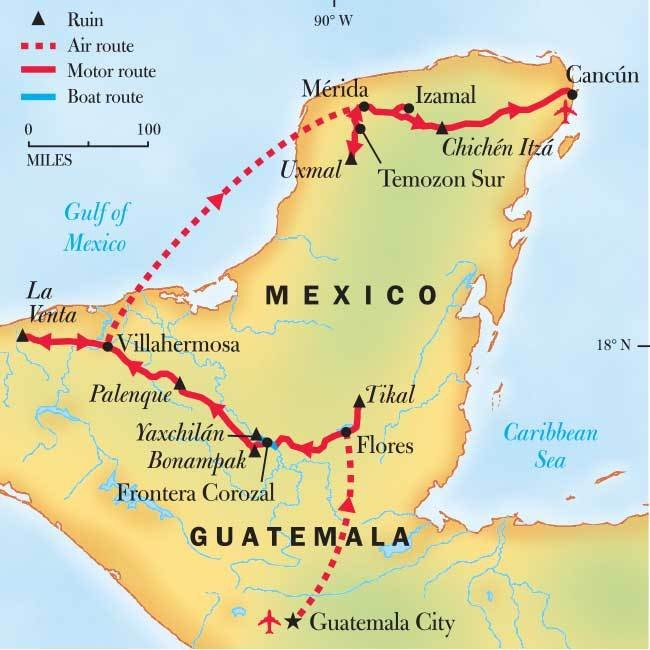 Mayan Ruins Tour: Chichen Itza, Yaxchilan & Bonampak
