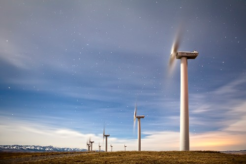 Wind Energy's Shadow: Turbines Drag Down Power Potential