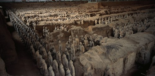 Discoveries May Rewrite History of China's Terra-Cotta Warriors