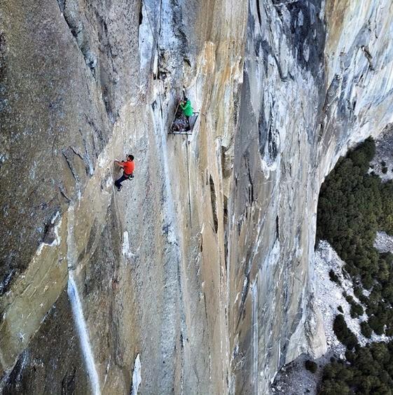 Yosemite Climbers Attempt Historic First Free Ascent of El Capitan's Dawn Wall