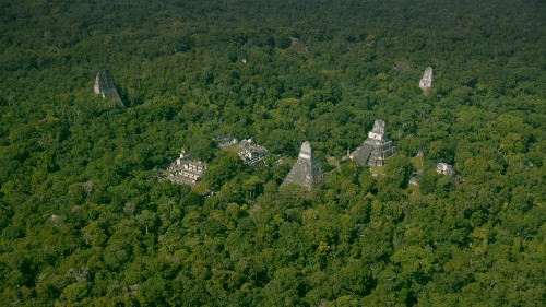 "Laser Scans Reveal Maya ""Megalopolis"" Below Guatemalan Jungle"