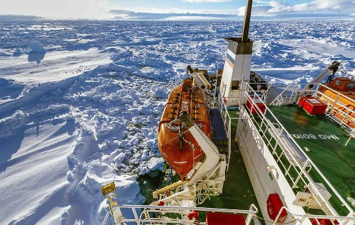 Who's on That Russian Ship Stuck on Antarctic Ice? And Why?