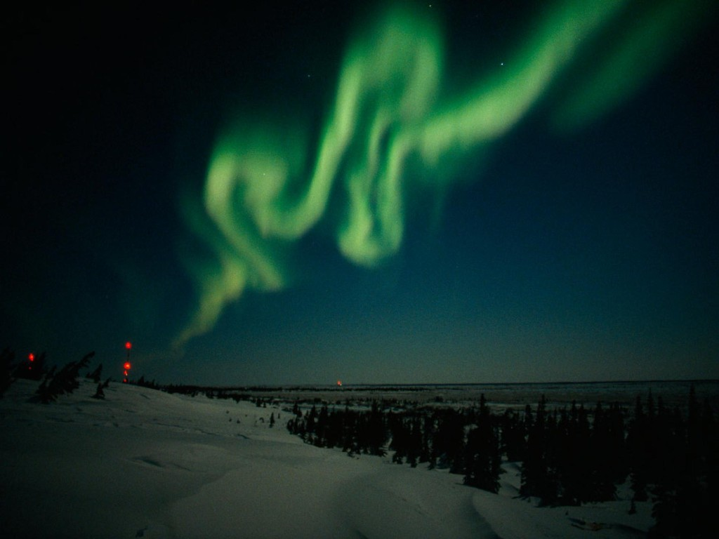 Auroras Article, Magnetic Storms Information, Auroral Activity Facts -- National Geographic