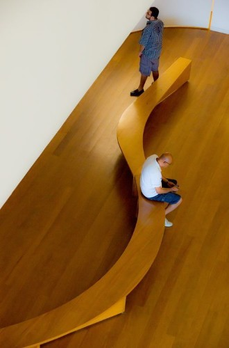 Wooden Bench Photo by Enrico Schneider Benites — National Geographic Your Shot