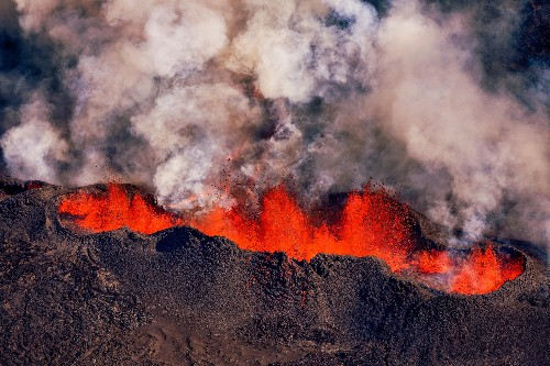 Magma speed record set by Icelandic volcano