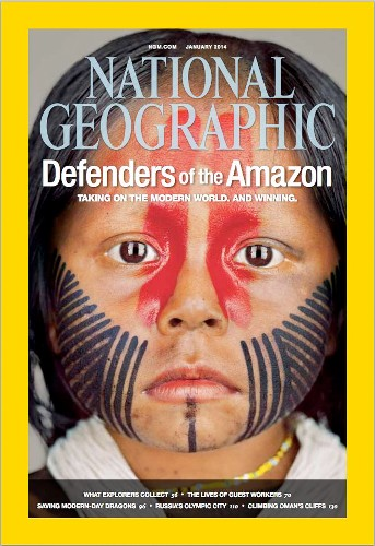 Behind the Cover: Martin Schoeller Photographs an Amazon Tribe