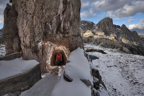Incredible Photos of Hiking Italy's 'Iron Roads'