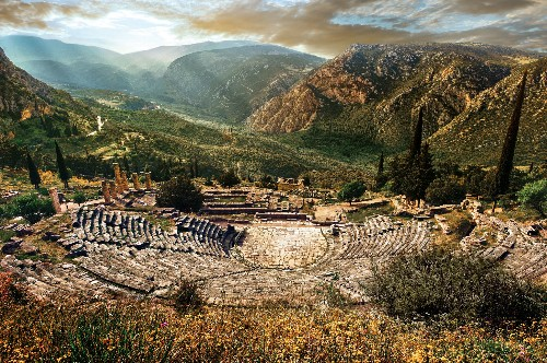 Once sacred, the Oracle at Delphi was lost for a millennium. See how it was found.