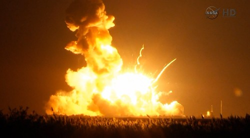 Rocket Explodes, Aborting NASA Mission to Resupply Space Station