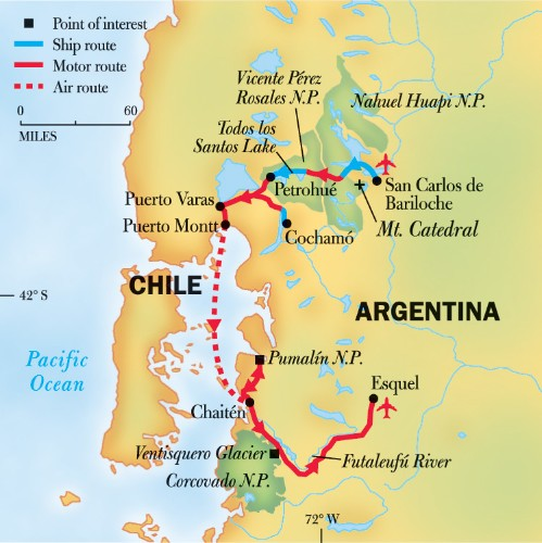 Northern Patagonia Adventure: Hiking and Paddling the Lake District