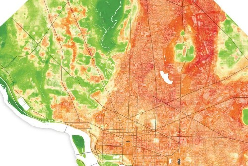 To prepare for rising temperatures, scientists map urban 'hot spots'