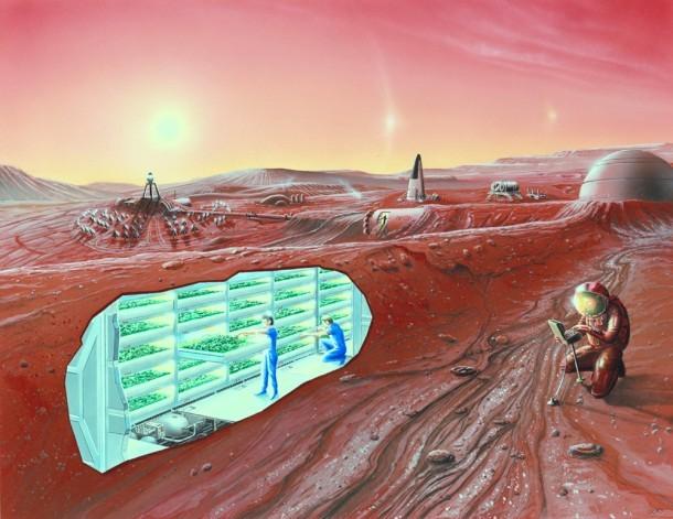 How Farming on Mars May Help Us Farm Earth