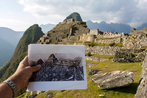 Then + Now: Machu Picchu