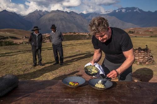 How to explore the world like Gordon Ramsay