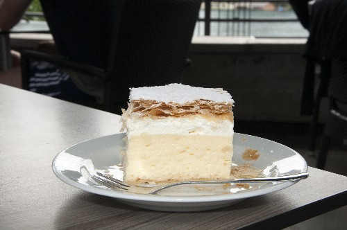 Lake Bled Cream Cake: A Confection Straight from the Storybooks